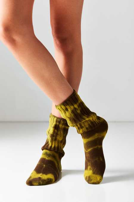 E.G. Smith Tie-Dye Slouchy Sock
