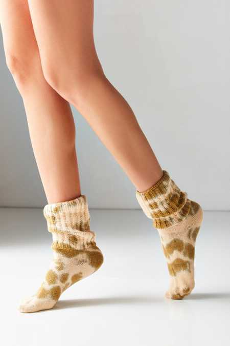 EG Smith Tie-Dye Slouchy Sock