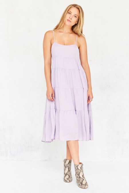 Kimchi Blue Leigh Tiered Midi Dress
