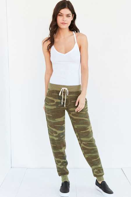 ALTERNATIVE Printed Eco-Fleece Jogger Pant
