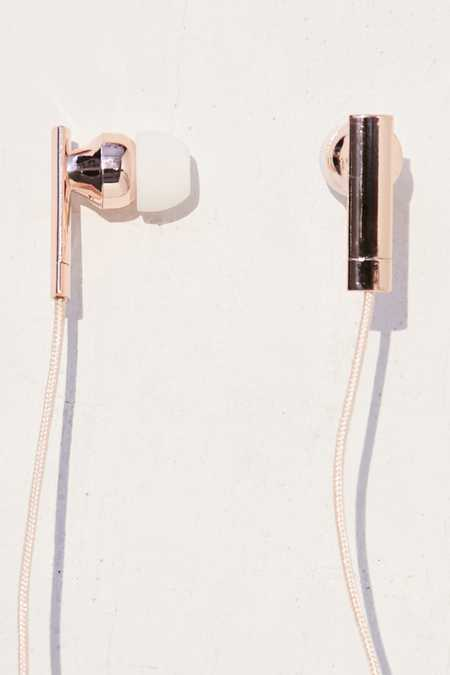 Skinnydip Rose Gold Earbud Headphones