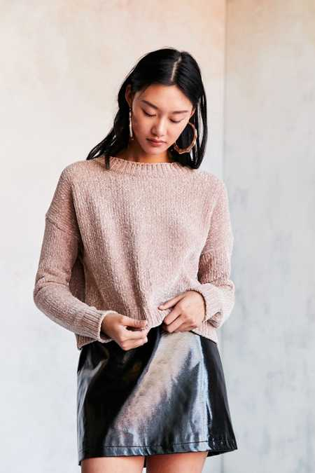 Silence + Noise Chenille Pullover Sweater