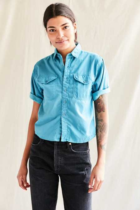 Urban Renewal Recycled Deadstock Button-Down Shirt