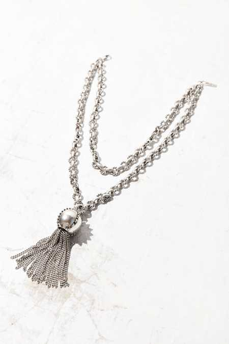 Luv Aj Baroque Tassel Wrap Necklace