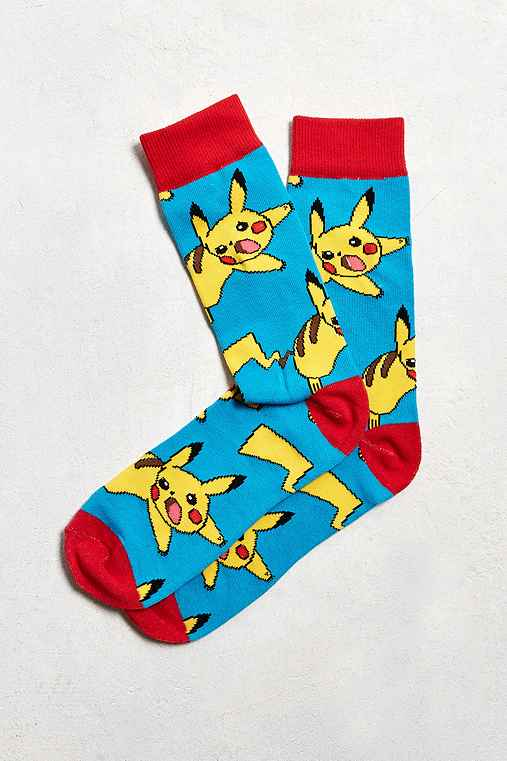 Pokemon Sock,BLUE,ONE SIZE