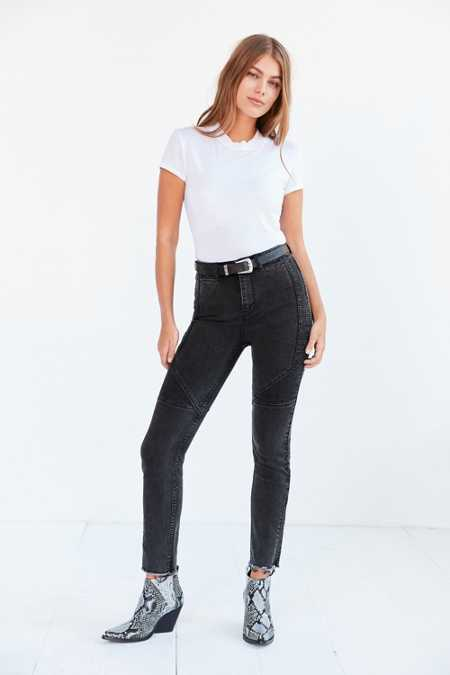 BDG Girlfriend Moto High-Rise Jean