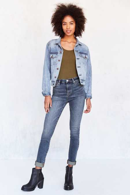 BDG Twig High-Rise Skinny Jean - Rinsed Denim