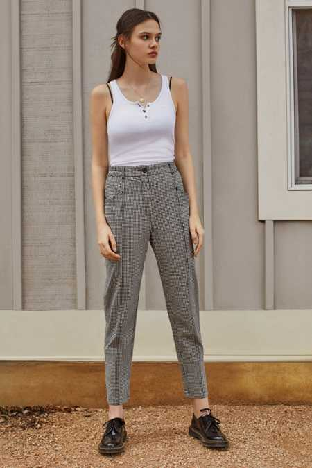 BDG Checker Mom Pant