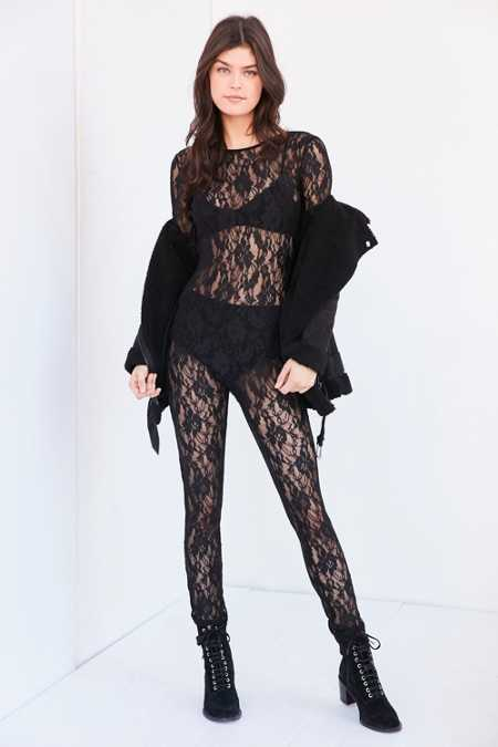 Out From Under Claire Lace Catsuit