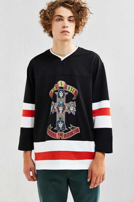 Guns N' Roses Hockey Jersey
