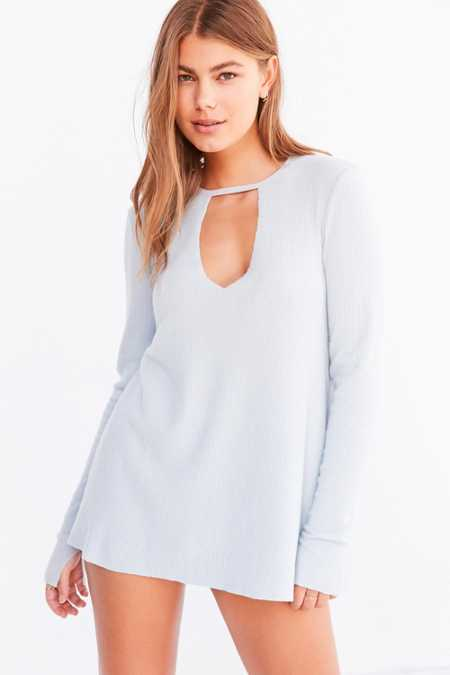 Project Social T Irresistible Cutout Deep-V Tee