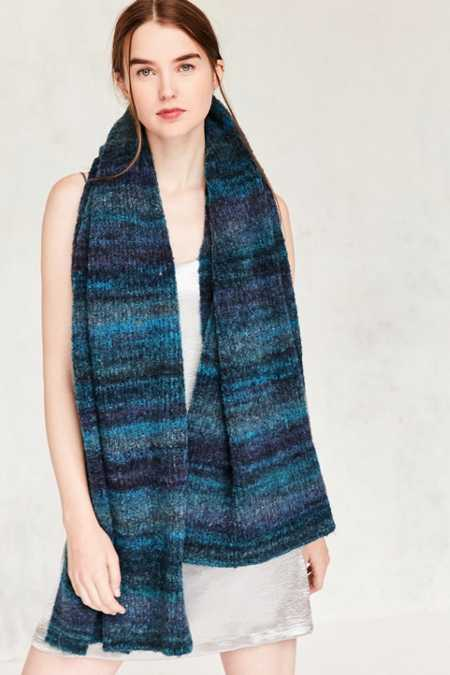 Ombre Boucle Scarf