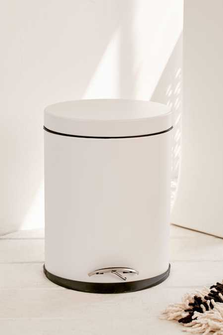 Oval Step Trash Can