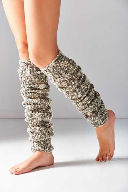 Out From Under Extreme Marled Knit Legwarmer