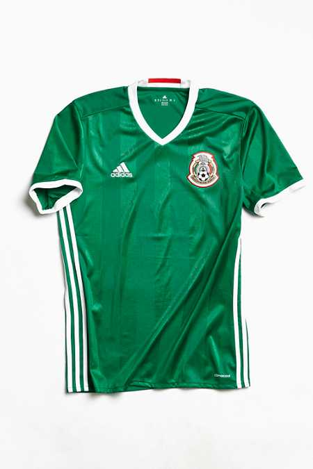 adidas Mexico Home Soccer Jersey