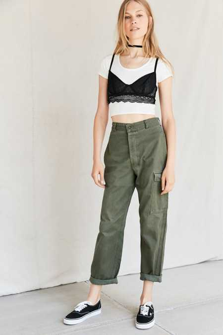 Urban Renewal Recycled Belgian Army Pant