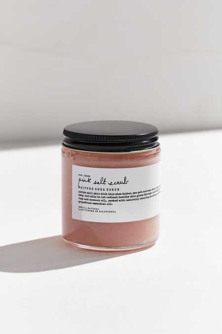 Fig + Moss Whipped Pink Salt Scrub