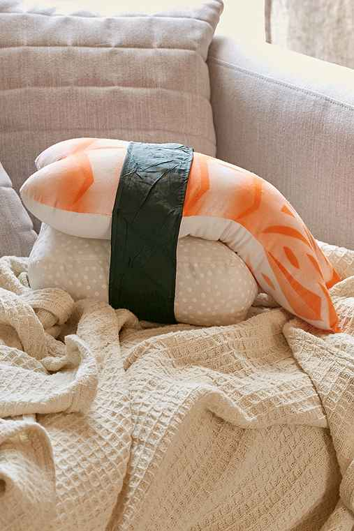 Shrimp Plush Pillow,MEDIUM ORANGE,ONE SIZE