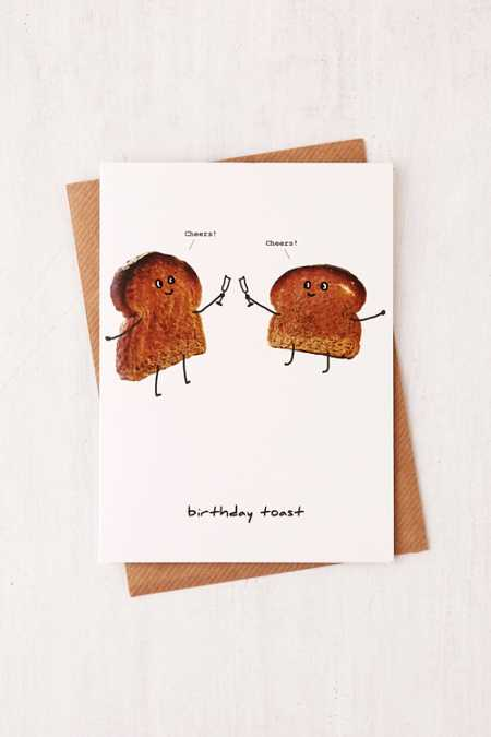 Saffron Cards & Gifts Celebration Toast Greeting Card