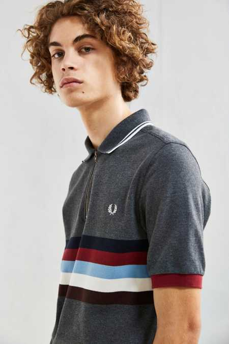Fred Perry Chest Stripe Polo Shirt