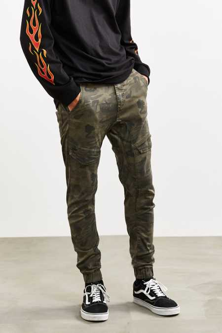 Nena And Pasadena Camo Cargo Flight Pant