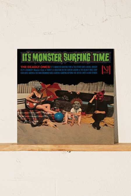 The Deadly Ones - It's Monster Surfing Time LP