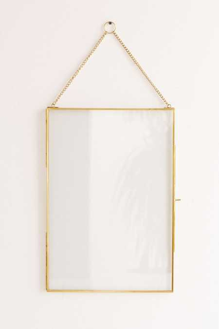Glass Hanging Display Frame