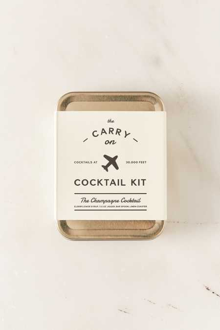 W&P Design And PUNCH The Carry On Cocktail Kit
