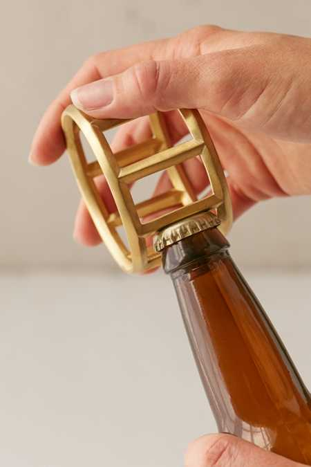 Umbra Brass Bottle Opener Cuff