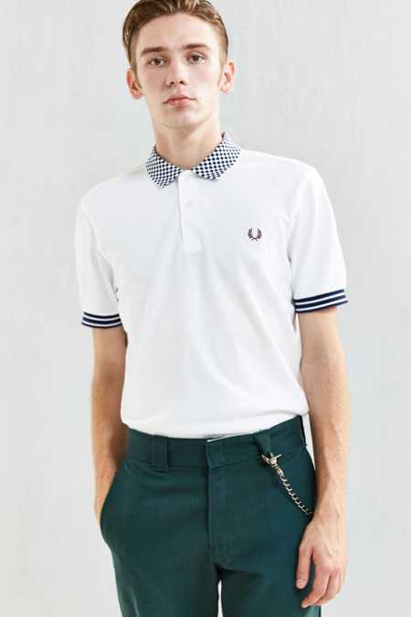 Fred Perry Checkerboard Polo Shirt