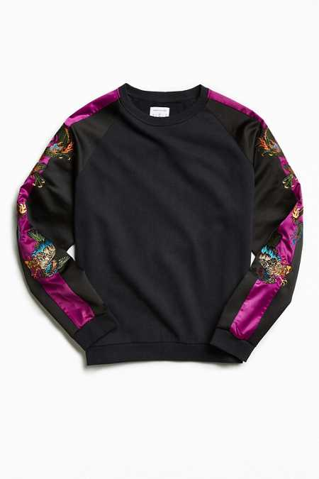 UO Rishiri Embroidered Crew Neck Sweatshirt
