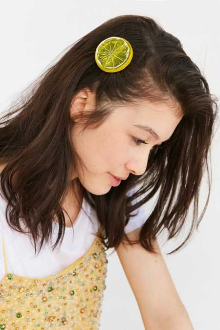 Fruit Hair Clip Set