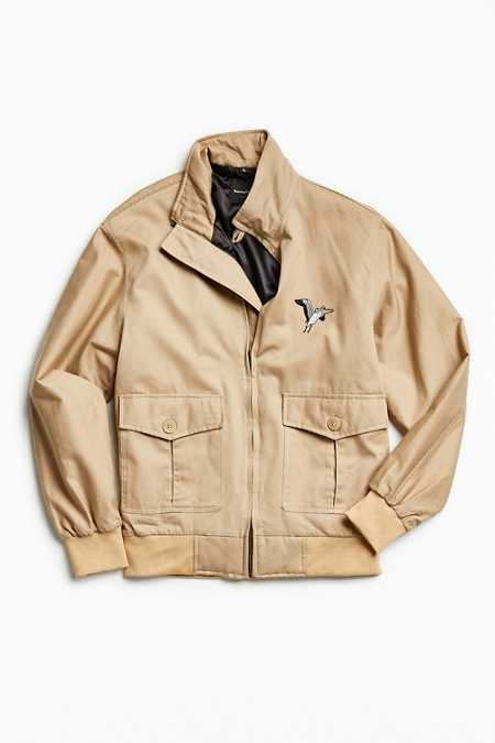 Barney Cools Embroidered Flight Jacket