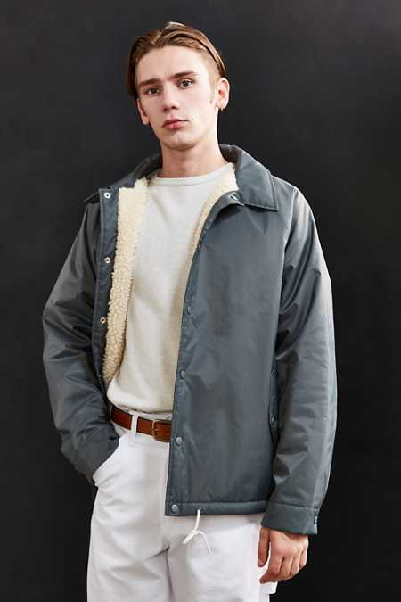 UO Sherpa Lined Coach Jacket