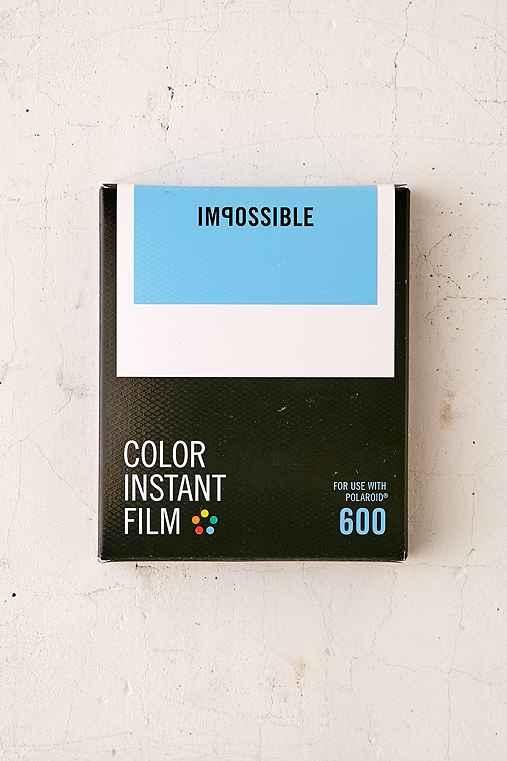 Impossible Color Polaroid 600 Instant Film,MULTI,ONE SIZE