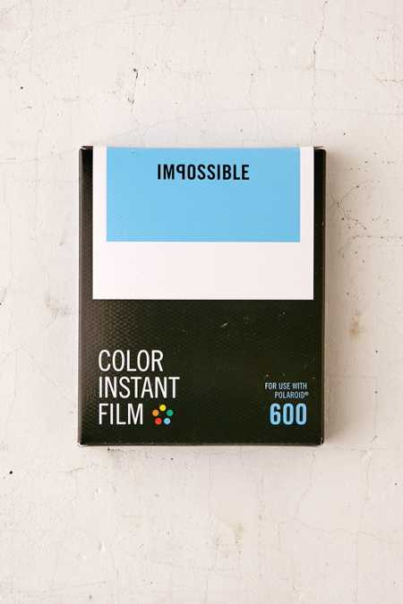 Impossible Color Polaroid 600 Instant Film