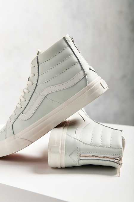 Vans Leather Sk8-Hi Slim Zip Sneaker