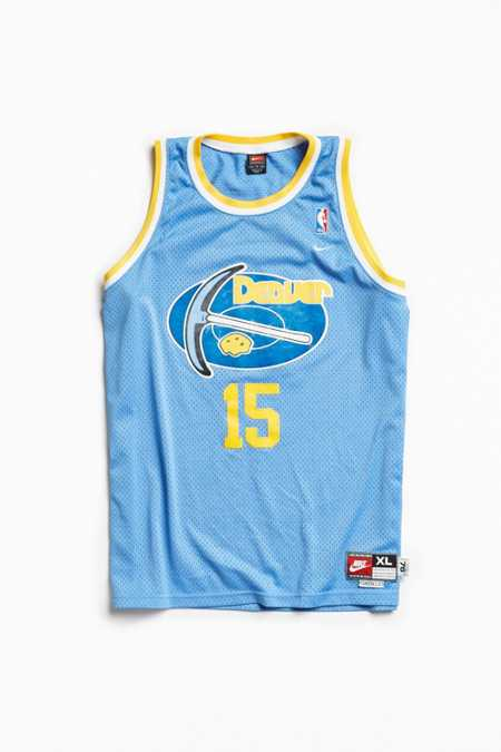 Vintage Carmelo Anthony Nuggets Jersey
