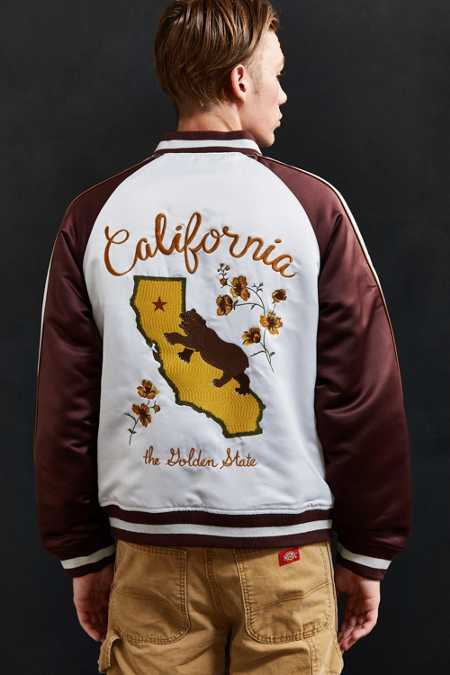 UO Embroidered California Souvenir Jacket