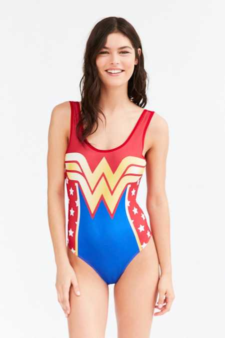 DC Comics X Undergirl Wonder Woman Bodysuit