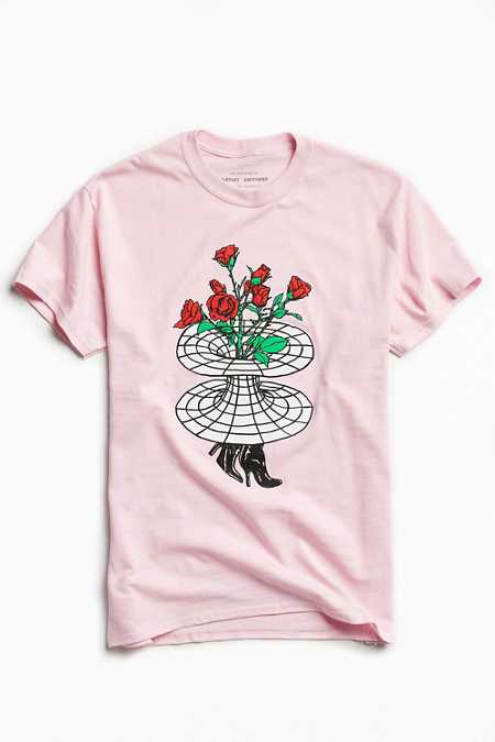 UO Artist Editions Taylor Johnson Rose Hole Tee