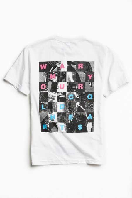 UO Artist Editions Taylor Johnson Warm Hearts Tee