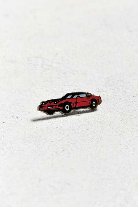 UO Red Corvette Pin