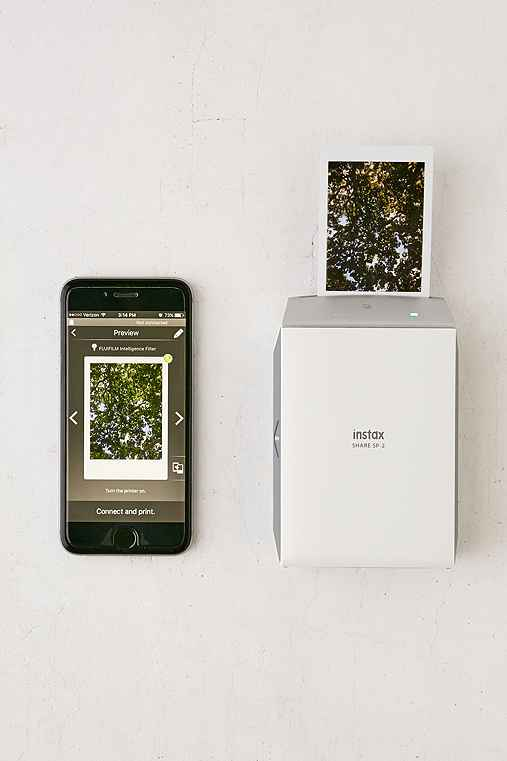 Fujifilm Instax Share SP-2 Smartphone Instant Printer,SILVER,ONE SIZE