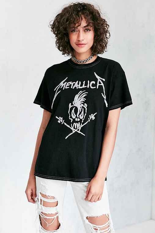 Metallica Tee,BLACK,S