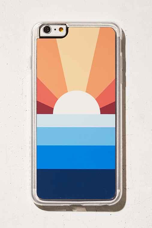 Zero Gravity Sun Down iPhone 6 Plus/6s Plus Case,ORANGE,ONE SIZE