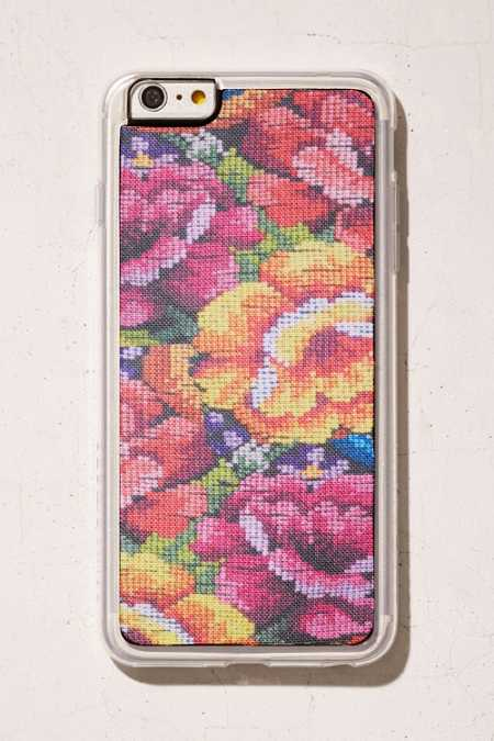 Zero Gravity Fabric Pixel Roses iPhone 6 Plus/6s Plus Case