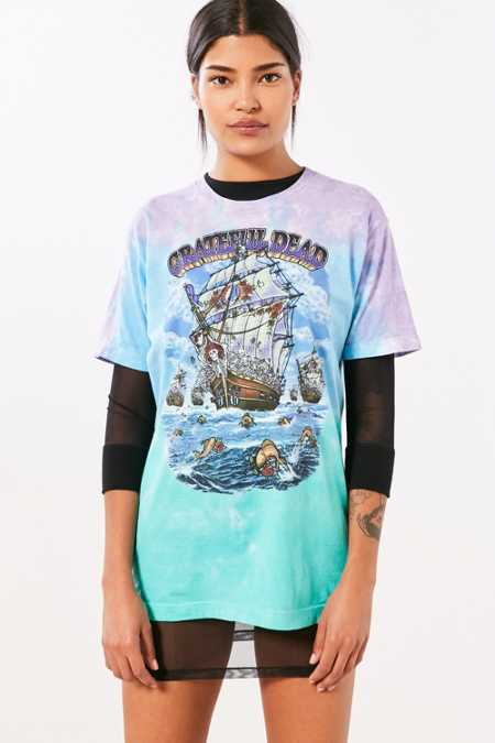 Grateful Dead Ship Of Fools Tie-Dye Tee