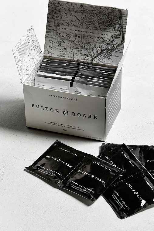 Fulton + Roark Aftershave Cloths,ASSORTED,ONE SIZE