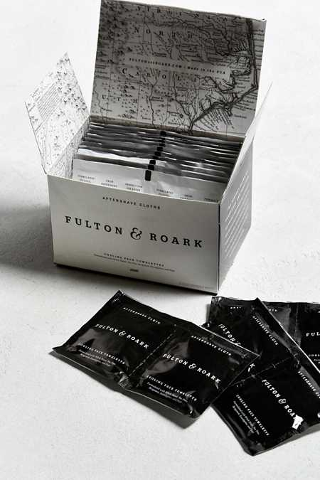 Fulton + Roark Aftershave Cloths